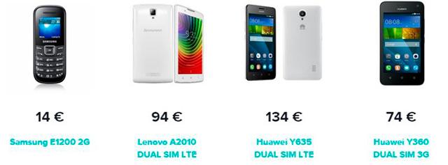 Nabídka mobilních telefonu od 4ky