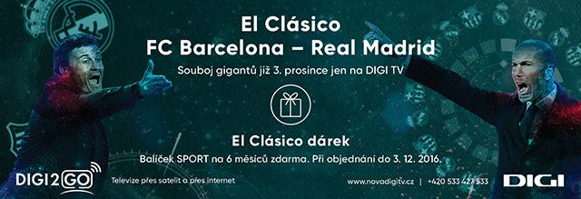 DIGI TV - El Clásico