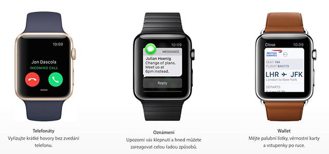 Apple Watch konečně v ČR