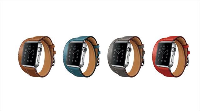 Apple Watch s řemínkem Hermés