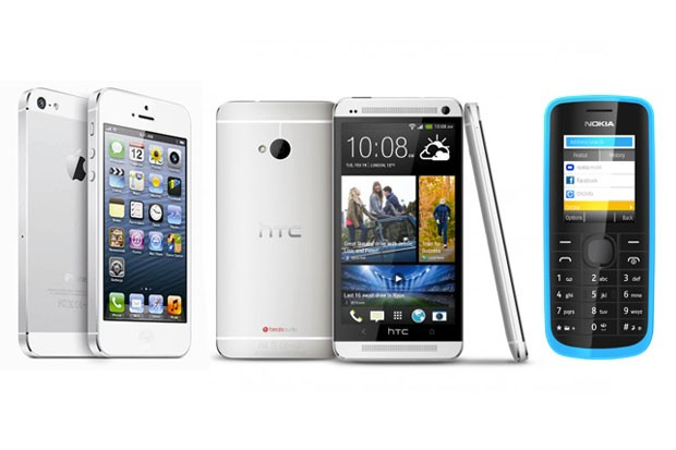 Chytré telefony vs. obyčejné mobily