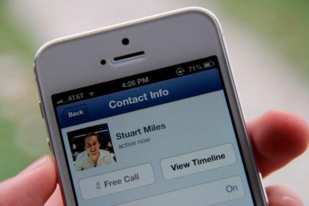 Volání zdarma přes Facebook v ČR
