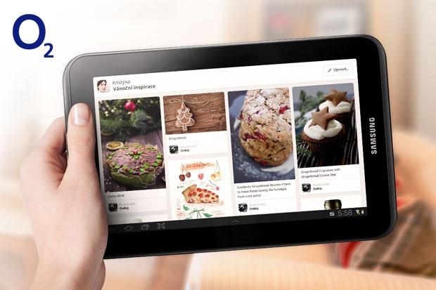 O2 novinky: mobilní internet + tablet