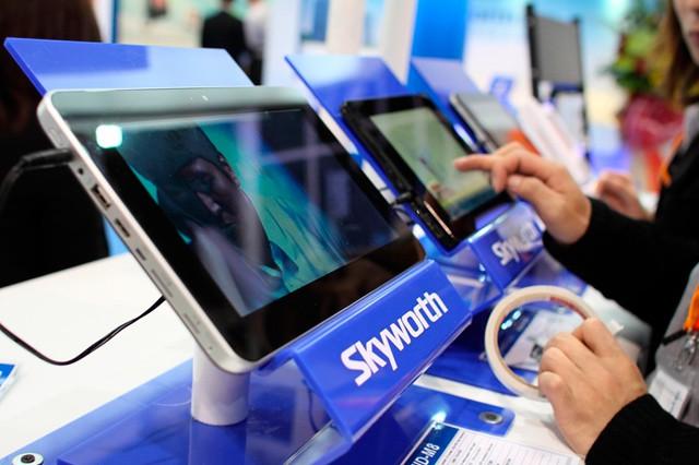 Digitální televize v tabletu