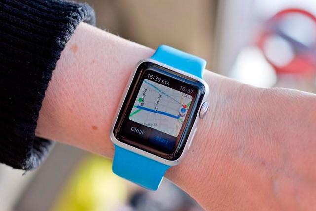 Google mapy nově pro Apple Watch