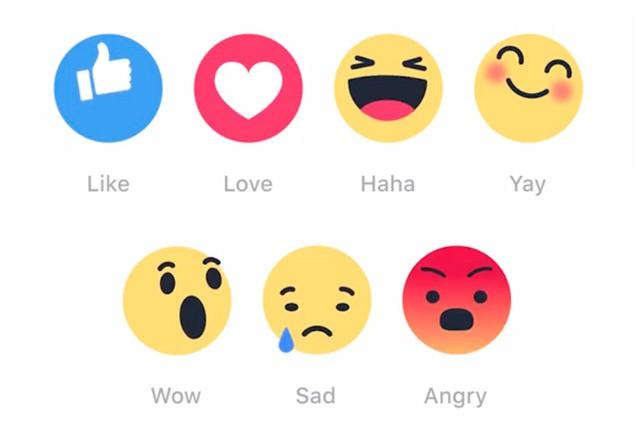 Facebook přidává smajlíky k tlačítku LIKE