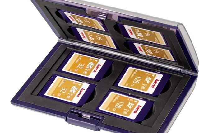 Pouzdra pro paměťové karty a jejich archivace