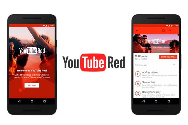 Předplatné YouTube Red za 240 Kč