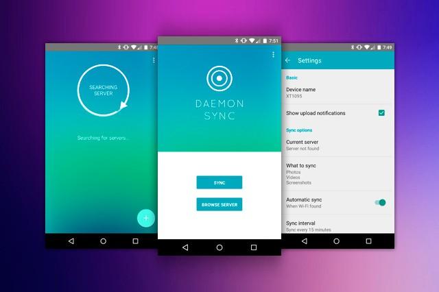Aplikace DAEMON Sync ušetří paměť vašeho smartphonu či tabletu