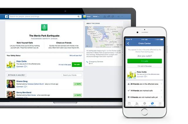Safety Check – užitečná služba od sociální sítě Facebook