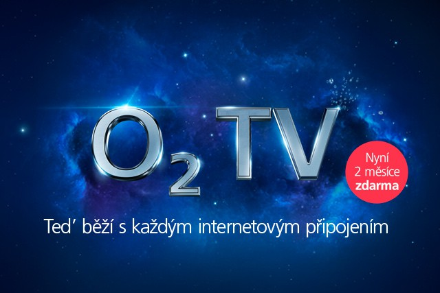 O2 TV spustíte na jakémkoli internetu! Navíc sbonusem na 2 měsíce zdarma!