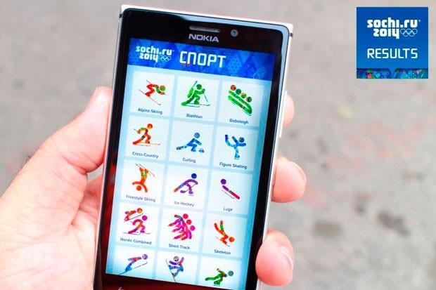Oficiální aplikace ZOH 2014