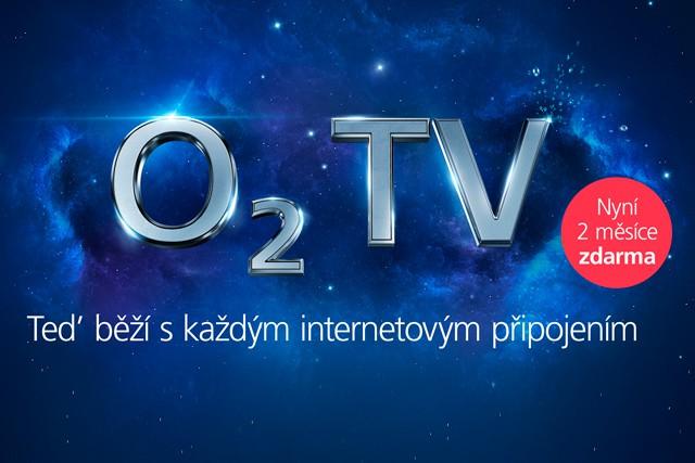 O2 novinky: O2 TV na 2 měsíce zadarmo!