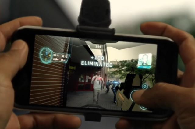 Laser Game v mobilu