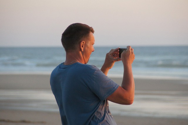 Polovina Čechů fotí na dovolené telefonem