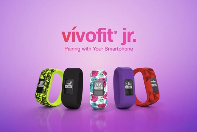 Garmin vívofit jr.: chytrý náramek pro děti