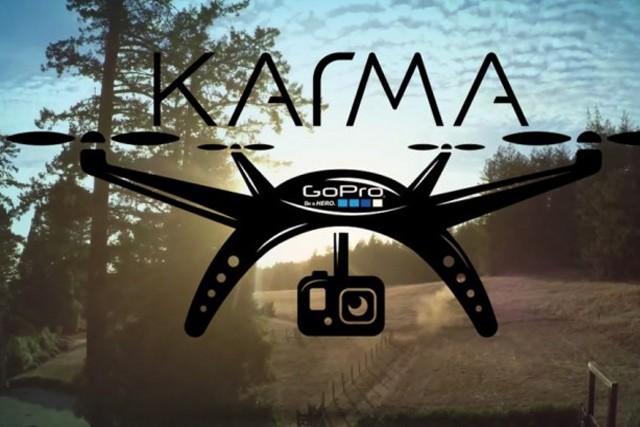 GoPro má svůj první dron