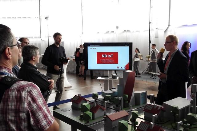 Vodafone představil demo nové technologie NB-IoT