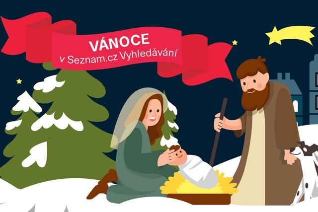 Na Seznam.cz Ježíšek válcuje Santu i Dědu Mráze