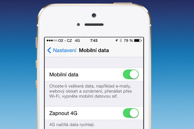 O2 podporuje 4G LTE v iPhone