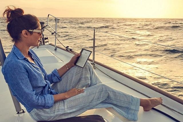 Vezměte si knížku do vany! Čtečky Kindle jsou vodotěsné