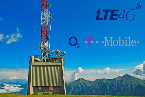O2 a T-Mobile spouští sdílené LTE vysílače