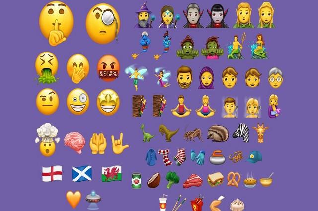 Apple konečně rozšířil rodinku emoji!