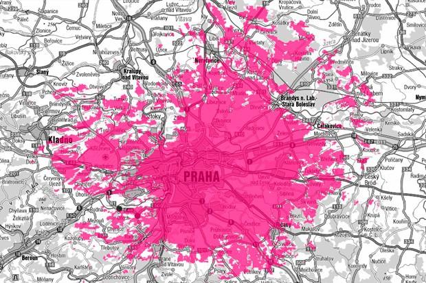 T-Mobile rozšířil LTE internet na další části Prahy