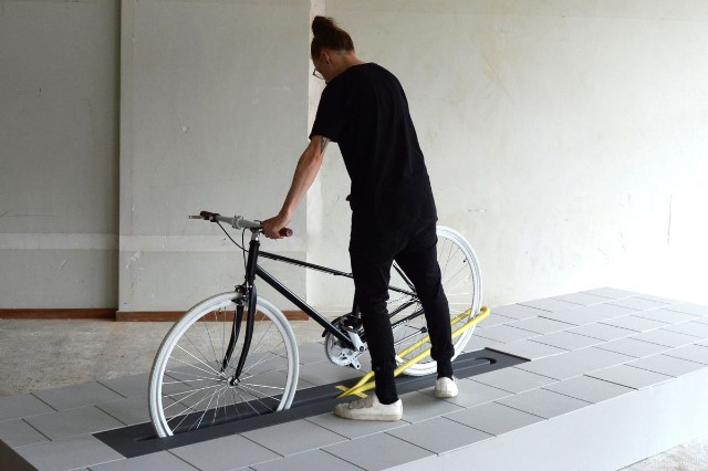Ve městech se brzy objeví pop-upové stojany na kola