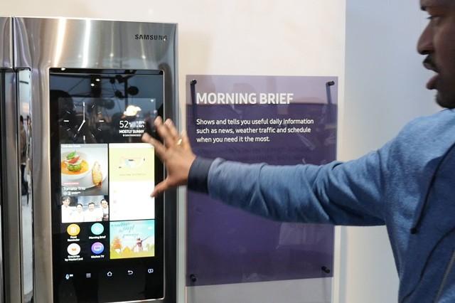 Lednice od Samsungu jako srdce chytré domácnosti