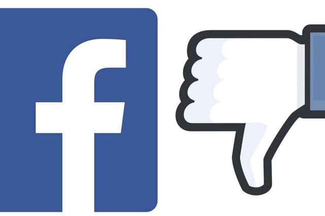 """Faceebook zkouší u příspěvků """"palec dolů"""""""