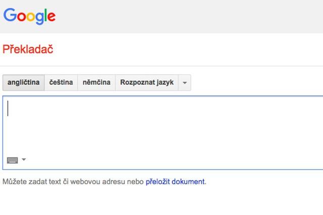 Google Překladač bude fungovat i v offline režimu