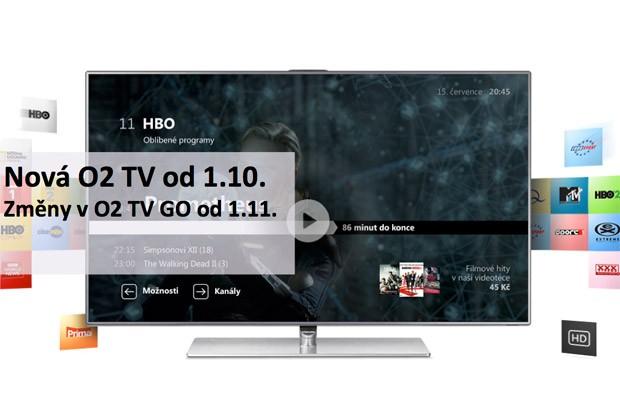 Nová O2TV od října