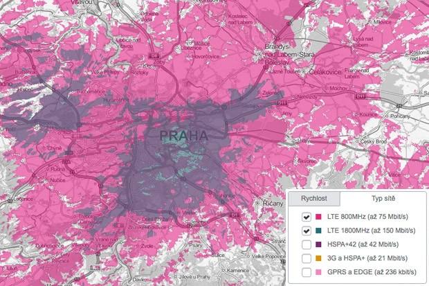 T-Mobile se chlubí: LTE máme po celé Praze!