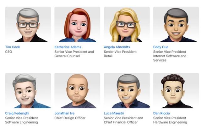 Apple oslavil Světový den emoji proměnou vedení ve smajlíky