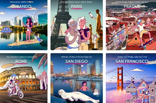 Appka od Googlu provádí 20 nejoblíbenějšími městy