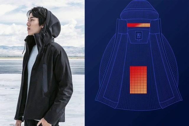 Chytrá bunda od Xiaomi vás sama zahřeje