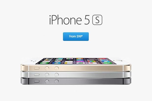 iPhone 5S za nejnižší cenu v historii