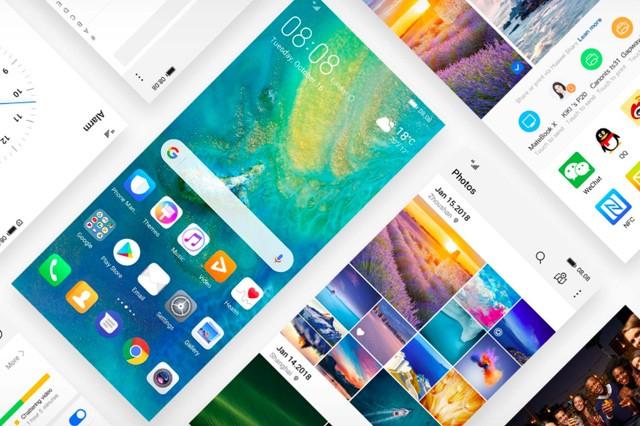 Některým nejlepším modelům od Huawei zelená displej