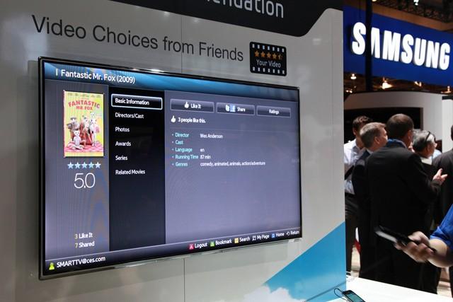 Apple a Samsung místo boje spolupracují na televizi