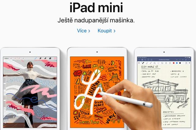 Apple představil nové iPady už nyní