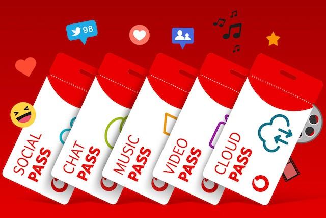 Vodafone Pass nyní i vdenní verzi