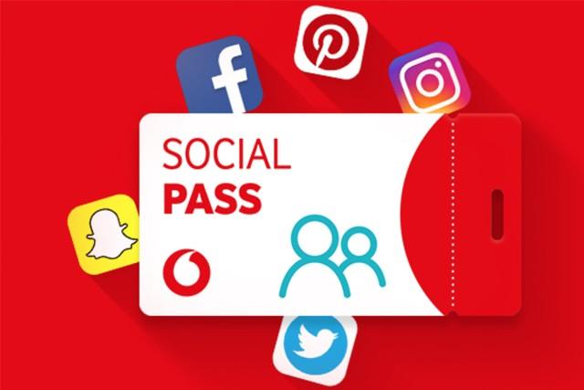 Vodafone nabízí studentům Social Pass zdarma