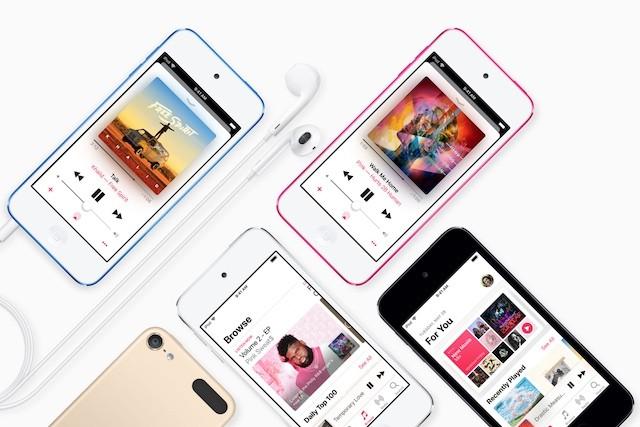 Apple představil nový iPod