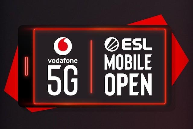 Vodafone organizuje první globální 5G turnaj vmobilních hrách