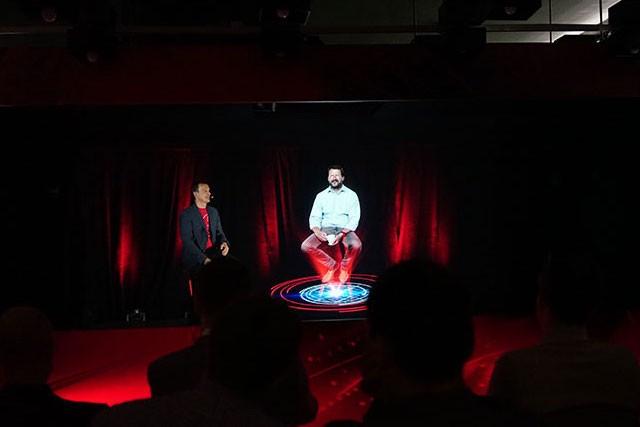 Vodafone předvedl první 5G holografický hovor u nás