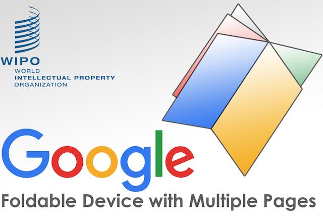 """Google pracuje na """"několikastránkovém"""" ohebném telefonu"""