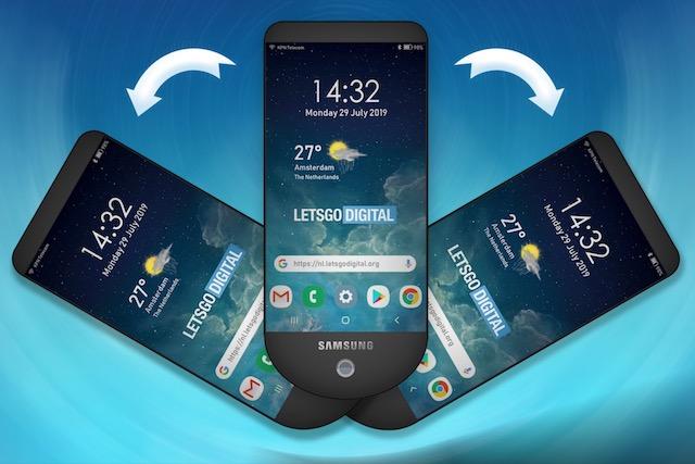 Samsung si nechal patentovat telefon se třemi displeji