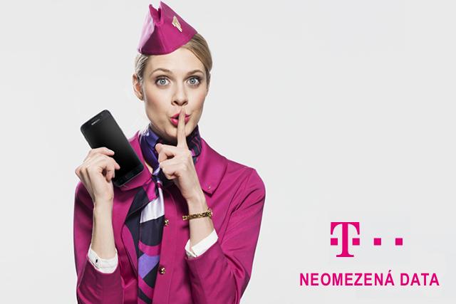 T-Mobile představil tarif s neomezenými daty