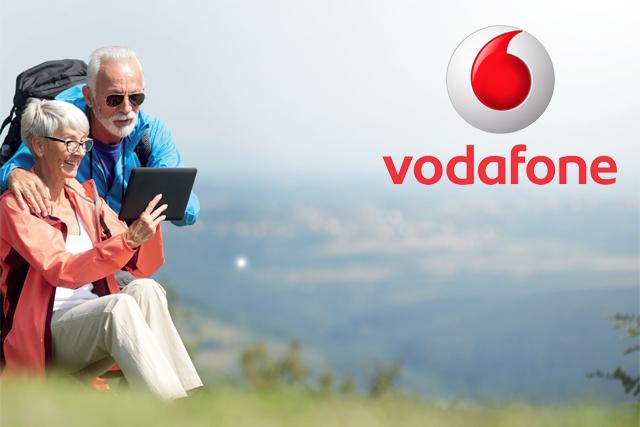 Vodafone vylepšil tarify pro lidi nad 60 let a držitele ZTP